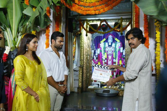Sai Dharma Tej Devakatta Movie Opening