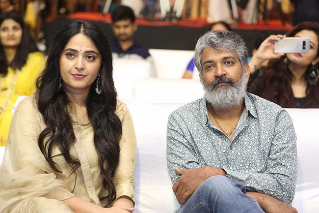 Nishabdham Movie Pre Release Event Photos-3