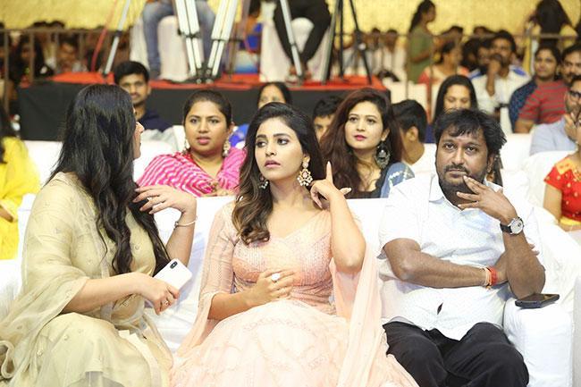 Nishabdham Movie Pre Release Event Photos-2