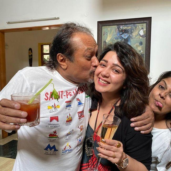 Charmme Kaur Party With Director Jayanth C Paranjee