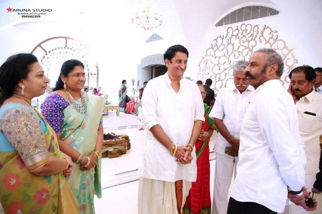 Balakrishna at Sandhya Hotels MD Sreedharan Rao housewarming ceremony Photos