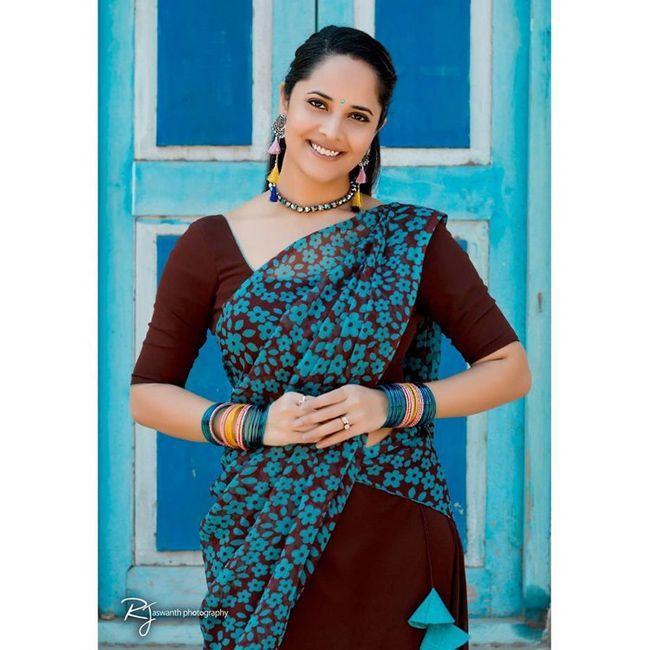 Anchor Anasuya Bharadwaj Beauty Stills