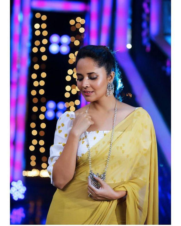 Anchor Anasuya Bharadwaj Beauty Stills