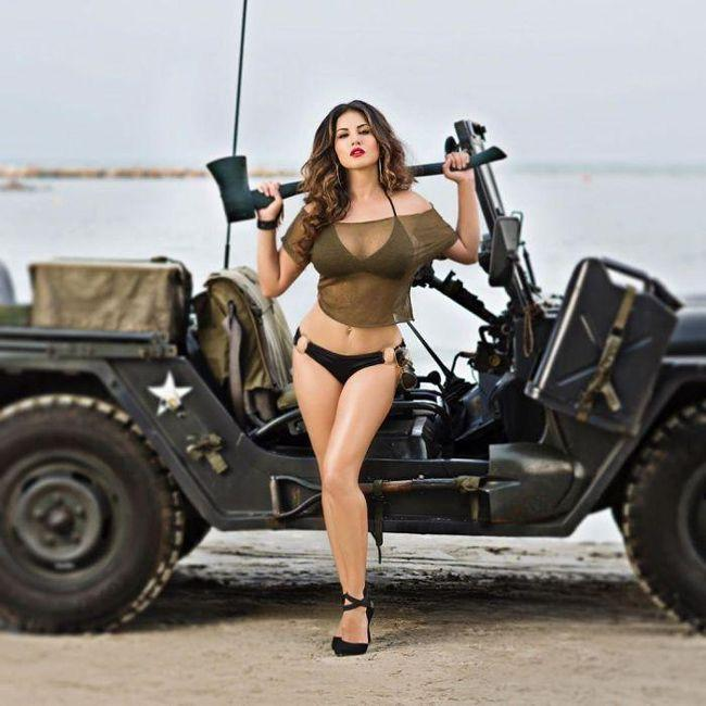 Sunny Leone Raises Heartbeat By Sharing Unseen Bikini Stills