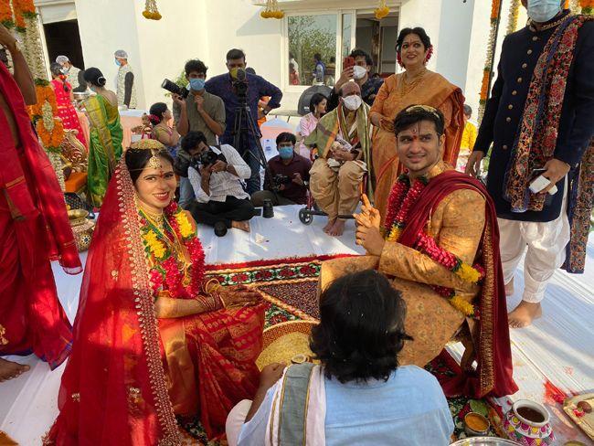 Nikhil Pallavi Varma Wedding Photos