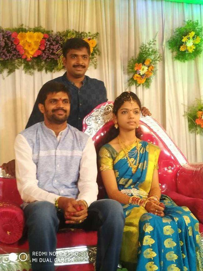 Comedian Mahesh Wedding Photos