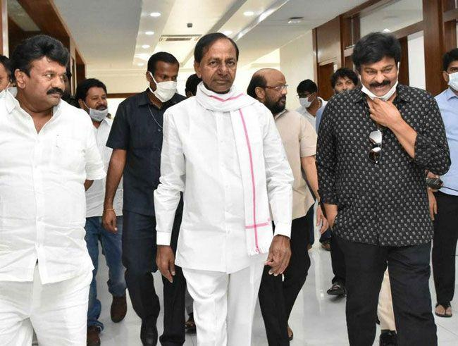 Tollywood Personalities Met KCR