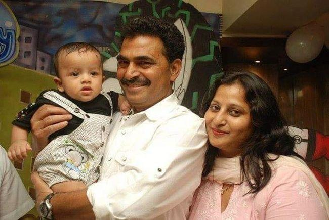 Sayaji Shinde Family Pictures