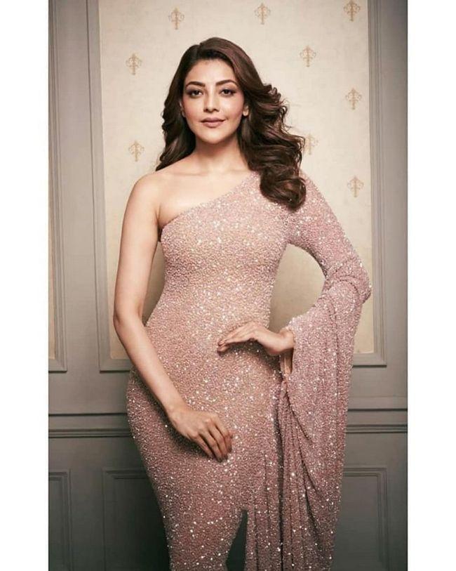 Kajal Aggarwal Beautiful Saree Looks