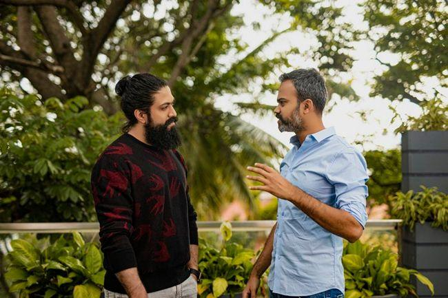 Yash with Prashanth Neel