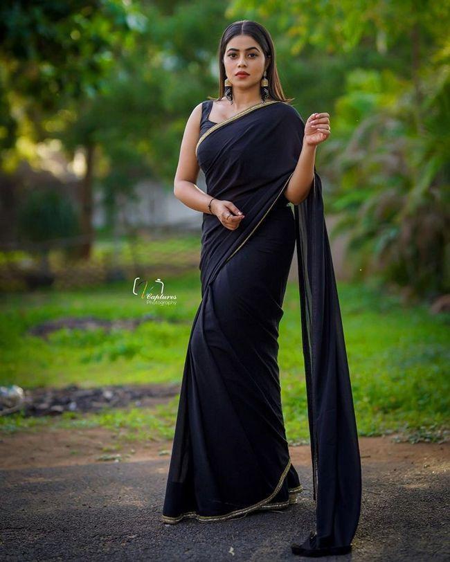 Poorna Looking Gorgeous In Black