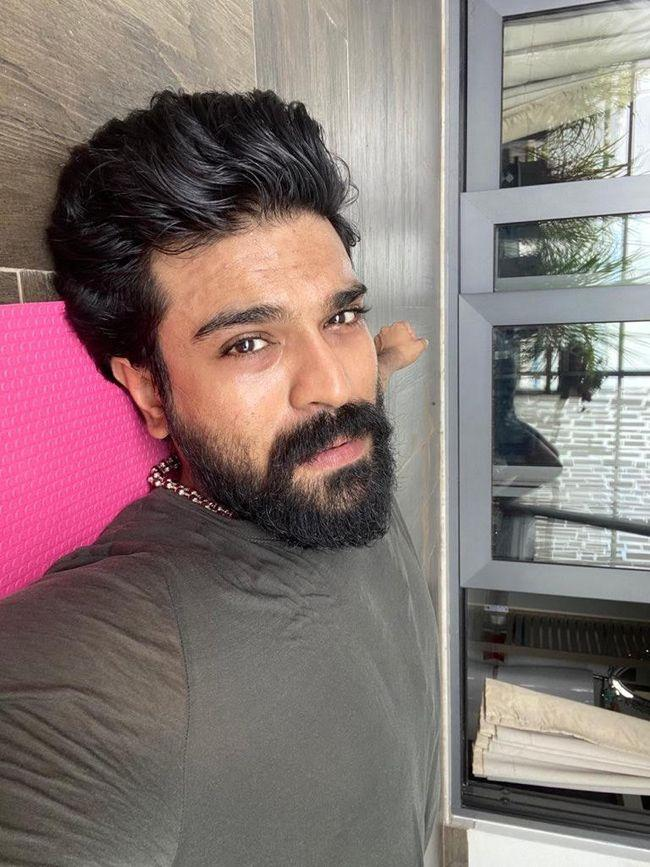 RamCharan Workouts At Home