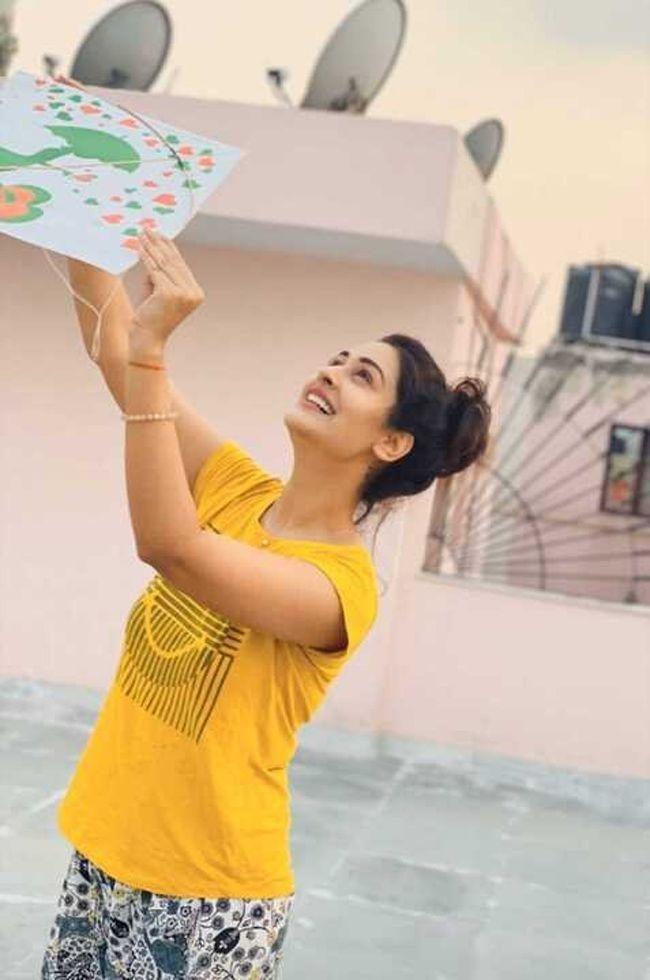 Payal Rajput Joyful Looks