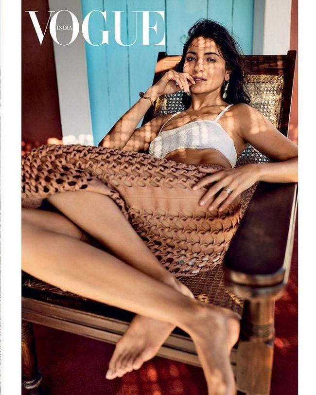 Anushka sharma Vogue magazine cover photos