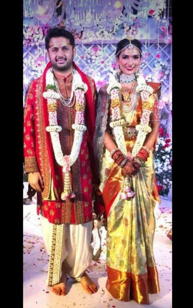 Nithiin Shalini Wedding Clicks