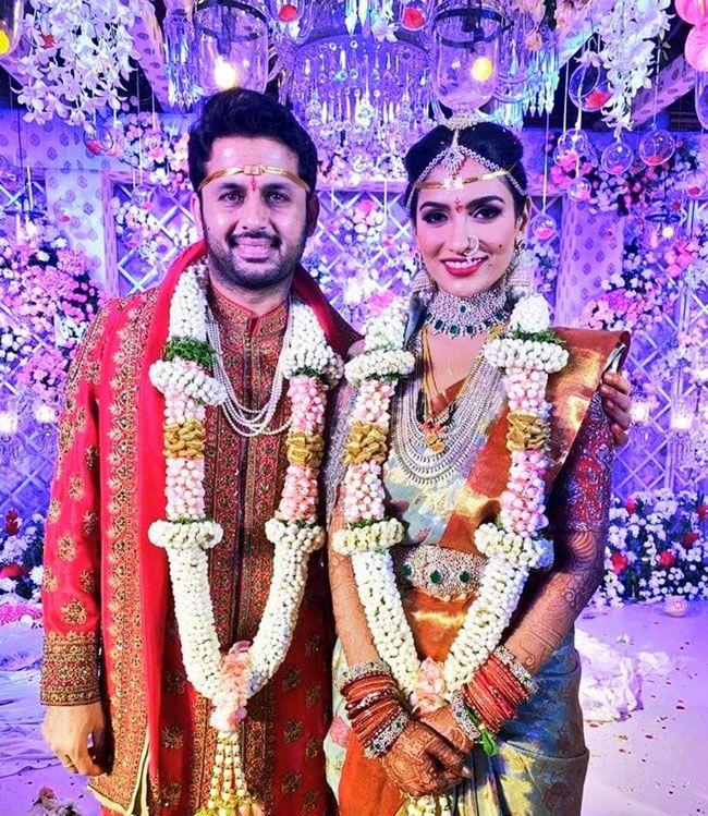 Photos Of Nithiin Shalini Wedding
