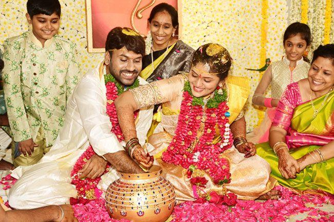 Producer Vallurupalli Ramesh Son Wedding Pics 2