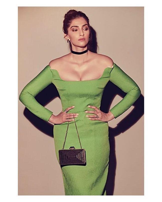 Sonam Kapoor Trendy Clicks