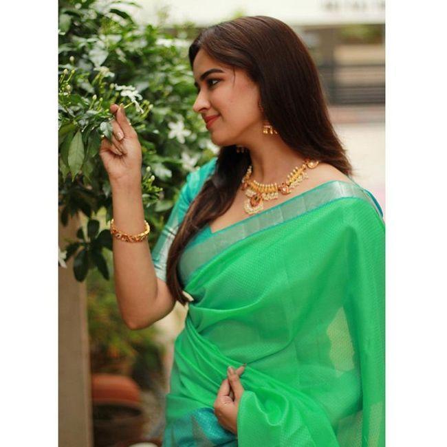 Pujita Ponnada Saree Looks