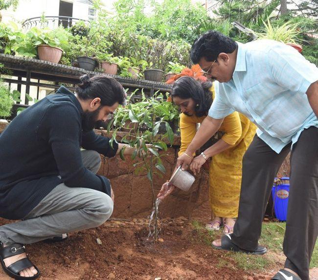 Naga Shaurya Green India Challenge