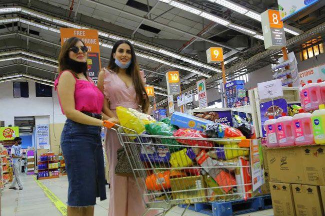 Nikita Chaturvedi And Karnica Karda Latest Pics
