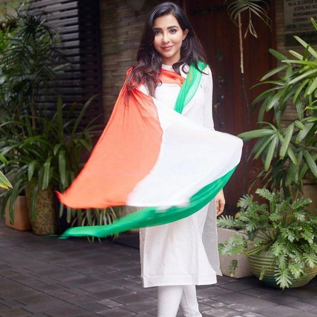 Parvati Nair Independence Day Celebrations