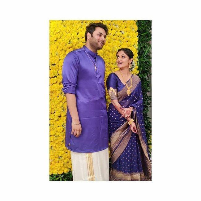 Krishna And His Leela Fame Shalini Wedding Clicks