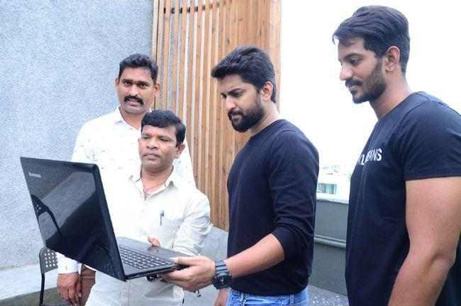 Nani Launched Veyi Subhamulu Kalugu Neeku Movie Motion Poster