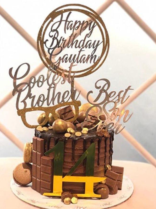 Goutham  Birthday Celebrations