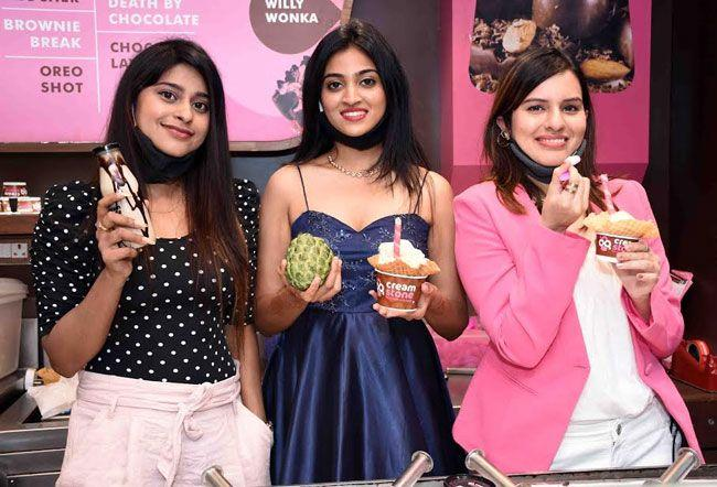 Actresses Launched Creamstone Ice Creams