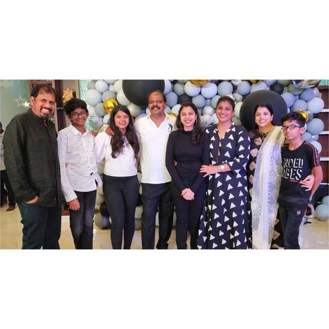 Roja Daughter Anshumalika Birthday Celebrations