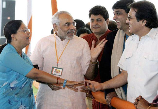 Narendra Modi With Bollywood Celebrities