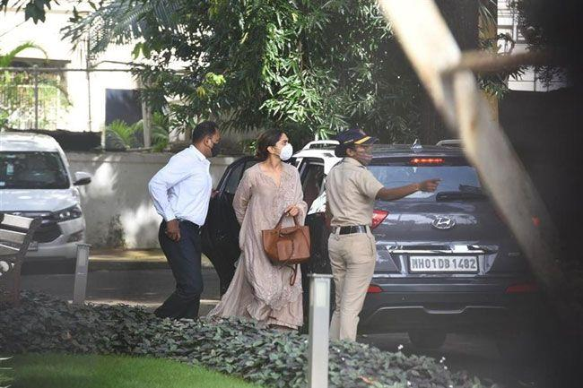 Bollywood Celebrities At NCB Guest house