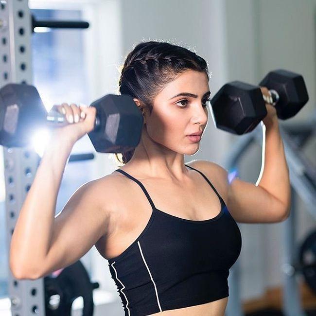 Samantha Latest Gym Stills