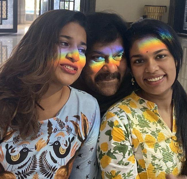 Celebs Daughters Day Celebrations Photos