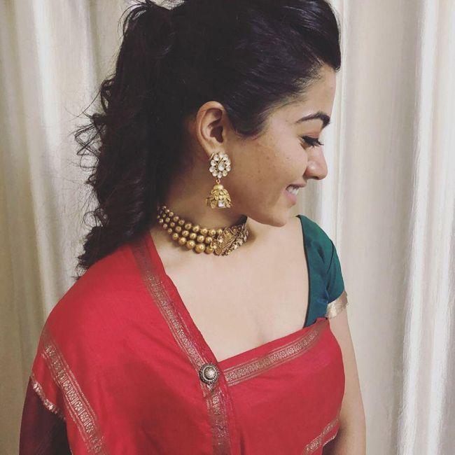 Rashmika Mandanna Trendy Looks