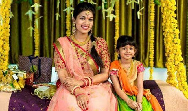 Mega Daughter Sreeja with her kids