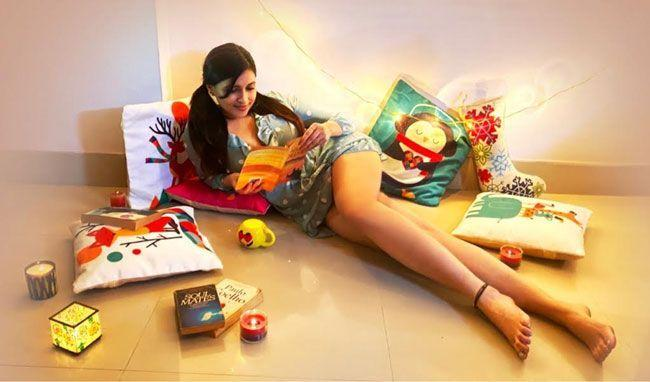 Mannara Chopra Posting Latest Stills On Instagram