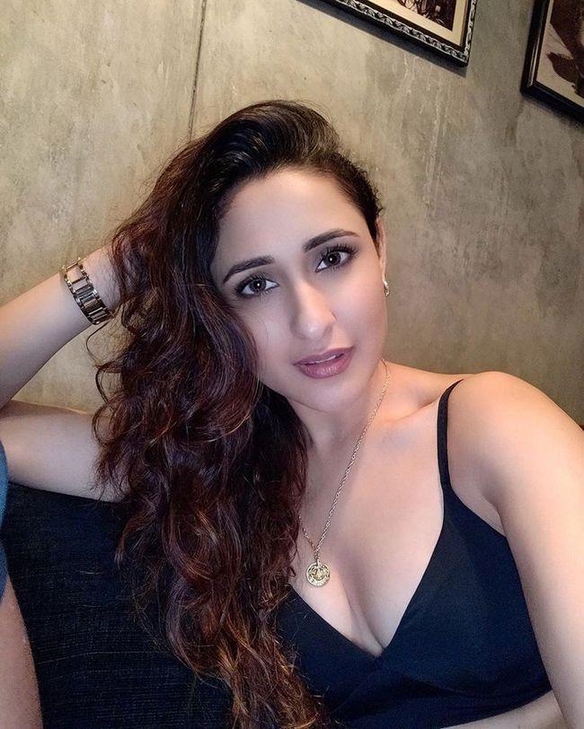 Pragya Jaiswal Looking Glamorous In Black