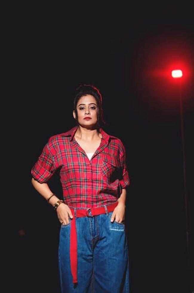 Priyamani Stuns You In Dark Moody Photoshoot