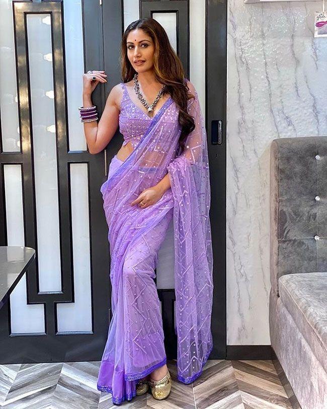 Surbhi Chandan Stuns You In Saree Clicks