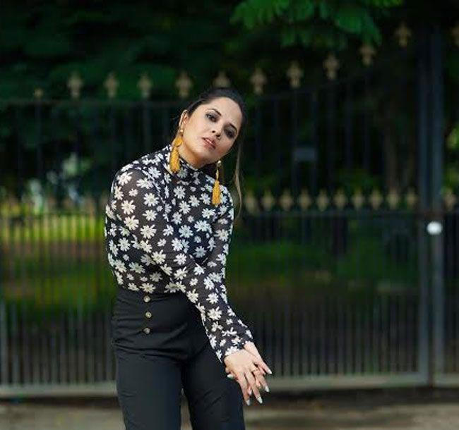 Looking Gorgeous Anasuya with Latest stills in the photoshoot