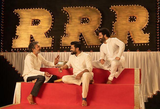 RRR Team Diwali Wishes