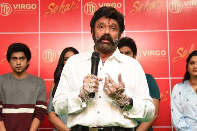 Sehari Movie First Look Launch By Nandamuri Balakrishna
