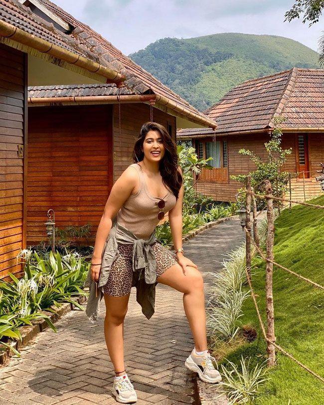 Vacation Pics of Nikita Sharma