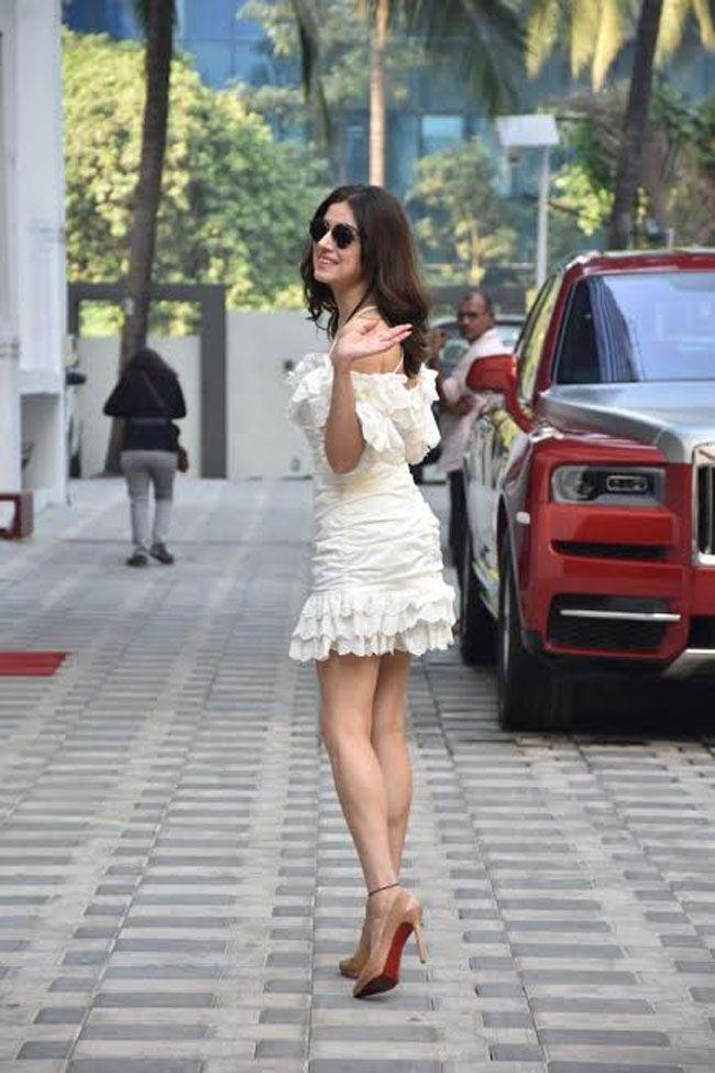 Divya Khosla Kumar was spotted in the city