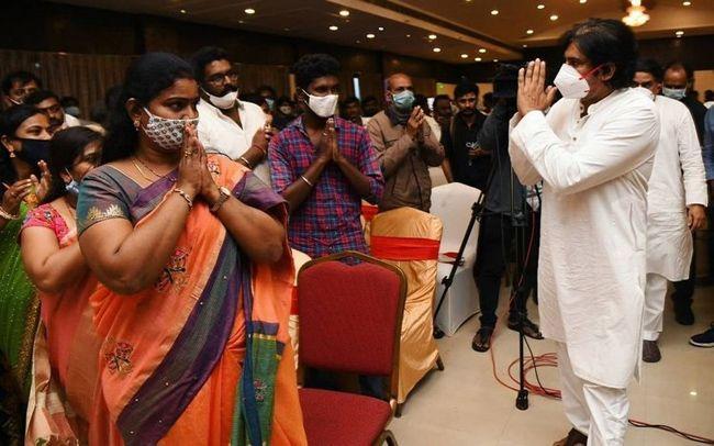 Janasena Pawan Kalyan At Tirupati Press Meet