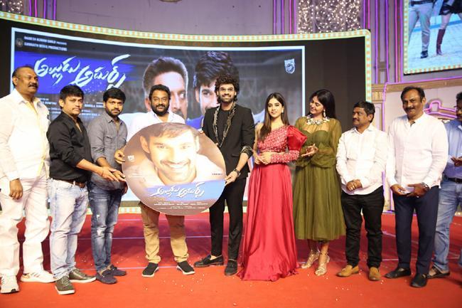 Alludu Adhurs Movie Pre Release Event Photos