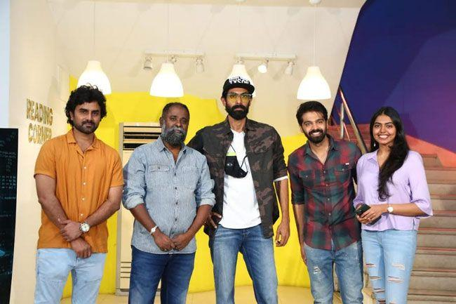 RanaDaggubati for launching the first look poster