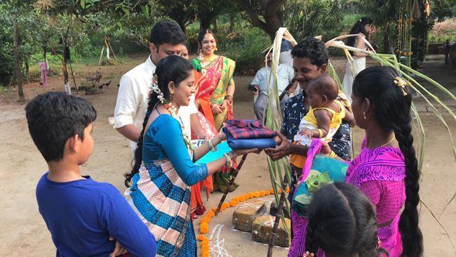 Sivabalaji Madhumitha Sankranti festival Celebrations